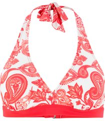 reggiseno per bikini con scollo all''americana (rosso) - bpc bonprix collection