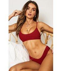 showpo anais bikini bottom in chilli - 20 (xxxxl) bikini sets