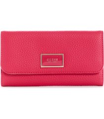 guess alessi slim clutch wallet