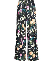 lolle, 1037 floral poly wijde broek multi/patroon stine goya