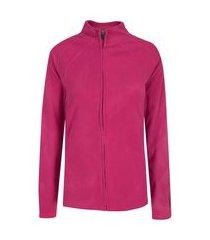 jaqueta de frio fleece nord outdoor basic new - feminina