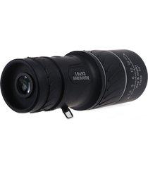 telescopio monocular óptico día de la visión nocturna hd 16x52 negro