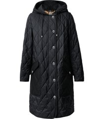 burberry roxby thermoregulated quilted coat, size xx-small in black at nordstrom