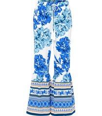 pantaloni a palazzo (bianco) - bodyflirt boutique