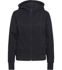 sweater adidas aeroready jacquard logo ritshoodie