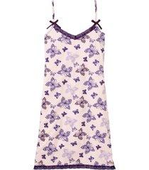 camicia da notte con spalline sottili (rosa) - bpc bonprix collection
