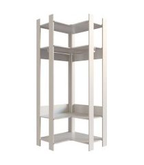 guarda-roupa closet modulado zadar off white