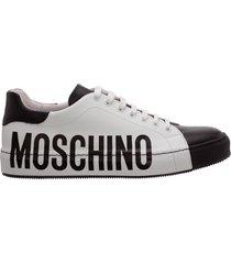 scarpe sneakers uomo in pelle