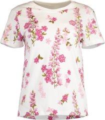 ivory short sleeve floral t-shirt