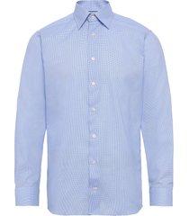dobby shirt overhemd business blauw eton