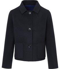 tweezijdig te dragen jas van basler blauw