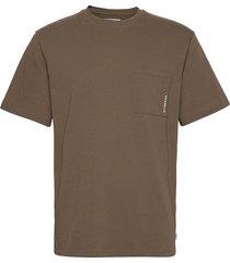 boxy stens tee t-shirts short-sleeved brun woodbird