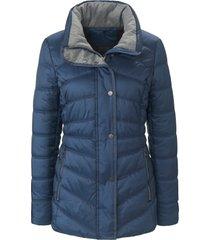 gewatteerde jas met thermofleece van fuchs & schmitt blauw