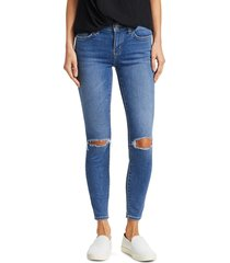 current/elliott women's the stiletto distressed ankle jeans - blue - size 31 (10)