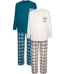 pyjama's babista 1x petrol, 1x beige
