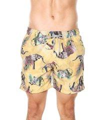 pantaloneta elefantes hombre