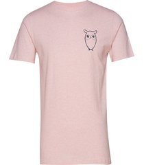 alder owl chest tee - gots/vegan t-shirts short-sleeved rosa knowledge cotton apparel