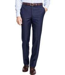 pantalón regent fit stretch wool azul brooks brothers