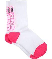 gcds mini white socks for girl