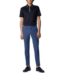 boss men's kaito1 open blue pants