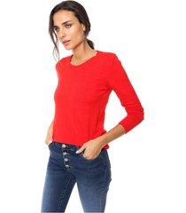 sweater rojo nano berta
