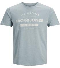 jack & jones men's classic jeans logo t-shirt
