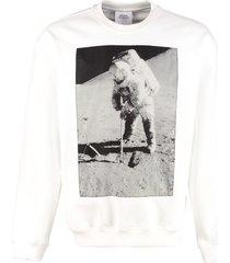 calvin klein jeans printed crew-neck sweatshirt