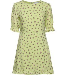 florence mini dress kort klänning gul faithfull the brand