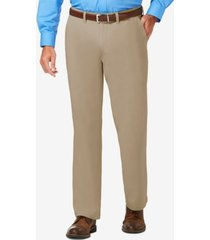 j.m. haggar men's luxury comfort classic-fit performance stretch dress pants