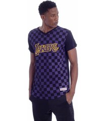 camiseta especial soccer mitchell & ness manga curta preto - preto - masculino - dafiti