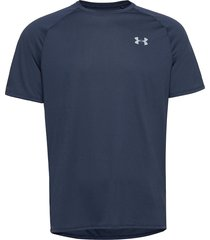 ua tech 2.0 ss tee novelty t-shirts short-sleeved blå under armour