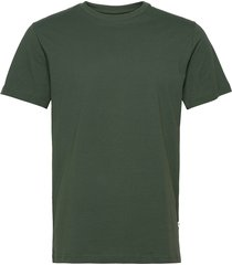 slhnorman180 ss o-neck tee s t-shirts short-sleeved grön selected homme