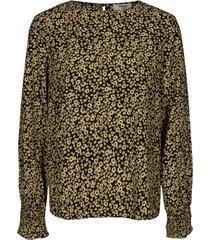 moss copenhagen shirt 14858 celina morocco geel