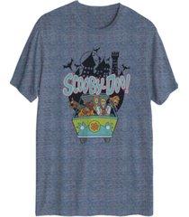 men's scooby's haunted short-sleeve t-shirt