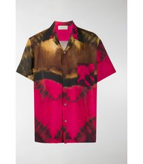 paura short-sleeved tie-dye shirt