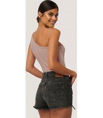 levi's 501-shorts - black