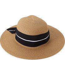 san diego hat company women's textured floppy hat - tobacco