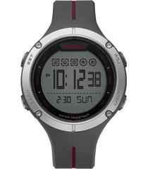reloj gris reebok baseline digital