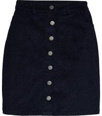 angie skirt kort kjol blå modström