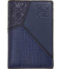 men's loewe puzzle bifold leather wallet -