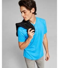 and now this men's short sleeve henley t-shirt