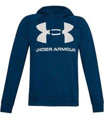 sweater under armour rival fleece big logo hoodie