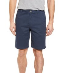men's bonobos stretch washed chino 9-inch shorts, size 38 - blue