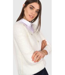 sweater natural minari perla