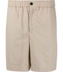 ami paris bermuda shorts - neutrals