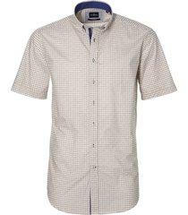 sale - jac hensen overhemd - modern fit - bruin