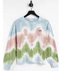 sweater vans wm rue boxy crop ls