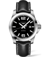 longines hydroconquest automatic bracelet watch, 41mm