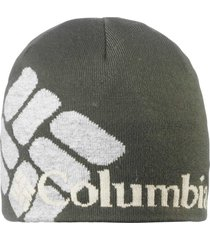 gorro columbia beanie heat super plus green