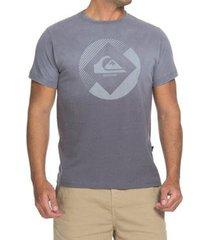 camiseta quiksilver especial degra logo masculina